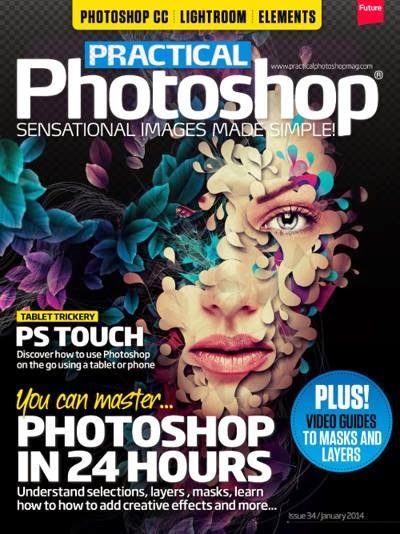 Practical Photoshop Magazine Issue 34 January 2014