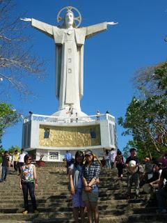 Estatua de cristo en Vung Tau