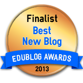 I'm an EduBlog Awards Finalist!