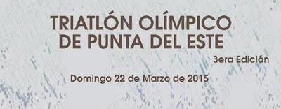 Triatlón olímpico de Punta del Este (22/mar/2015)