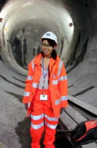 Sistem Kereta Api Bawah Tanah London Dapat Sentuhan Anak Malaysia