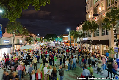 Christmas on Las Olas in Fort Lauderdale 2012. Photo by Robert Giordano