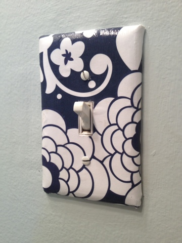Two It Yourself DIY light switch covers Update and