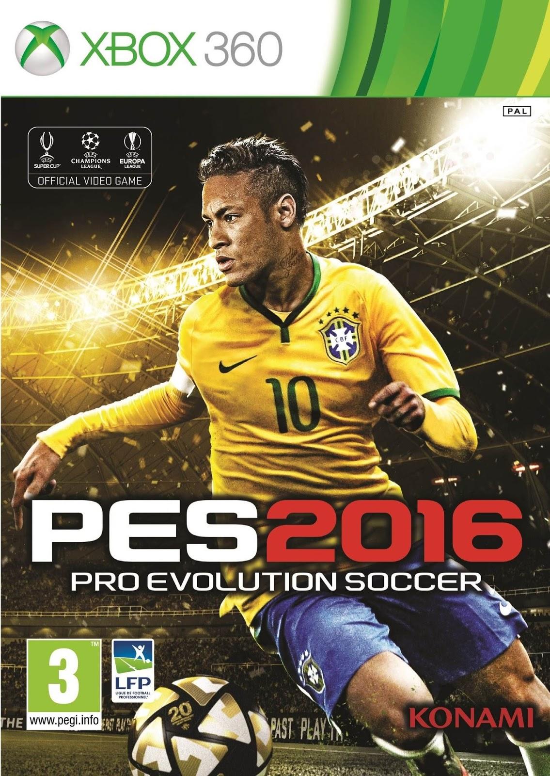 Pro Evolution Soccer 2016 ESPAÑOL XBOX 360 Cover Caratula