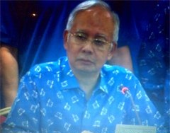 Pengerusi BN Datuk Seri Najib Razak
