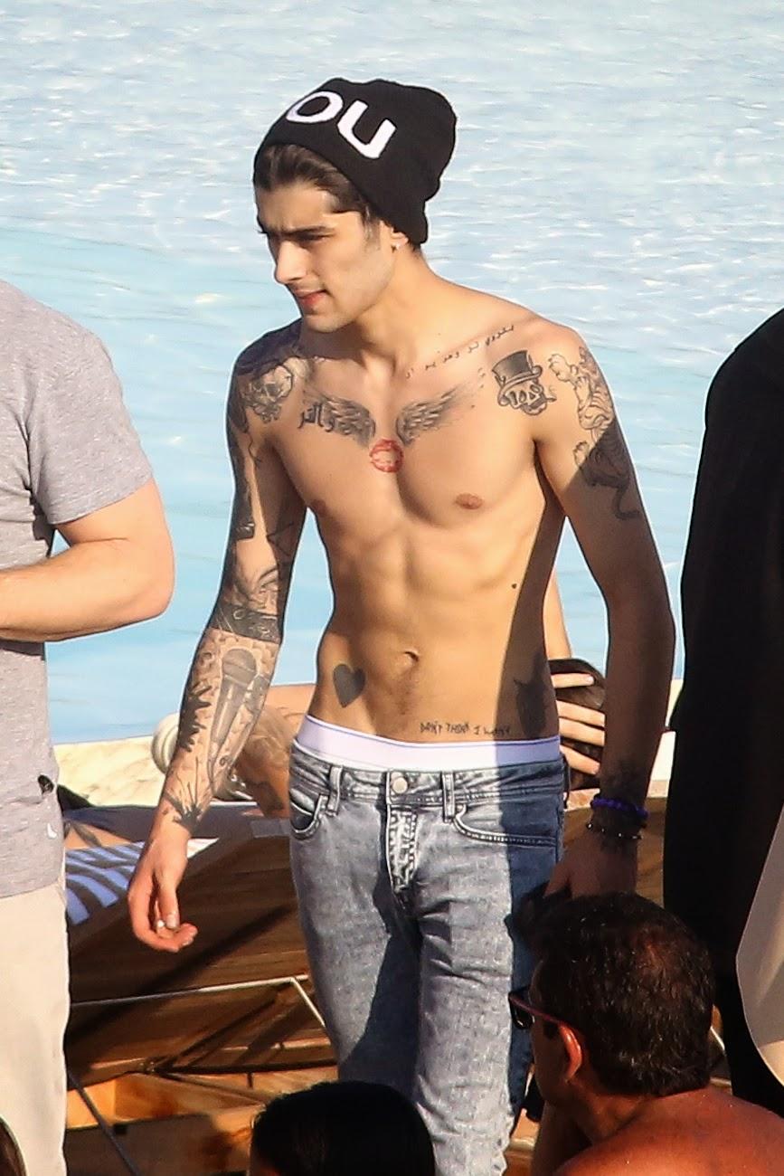 Todos los tatuajes de One Direction, ¡explicados! - Son