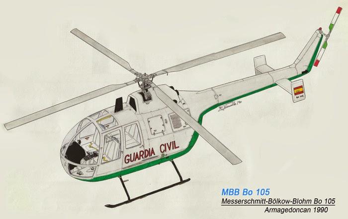 Los dibujos de Armagedoncan Armagedoncan-Bo-105