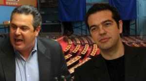 Πάνω από 50% θα πάρουν ο Αλέξης Τσίπρας και ο Πάνος Καμμένος αν ξαναπάμε σε εκλογές!...