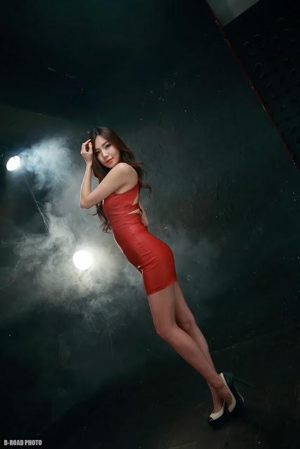 3 Lee Ji Min in 2 different outfits - very cute asian girl-girlcute4u.blogspot.com