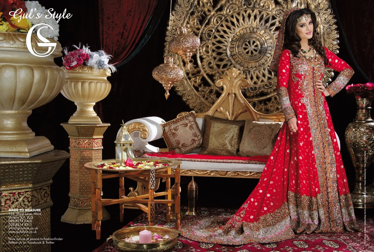 Gul Style Collection for Brides | Bridal Dresses for Wedding Nights ...