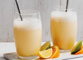 Smoothie recepty: Mandľovo-pomarančové smoothie