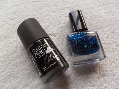 Nail polish manicure combination