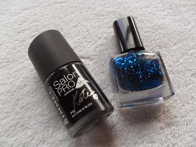 Nail polish manicure combination