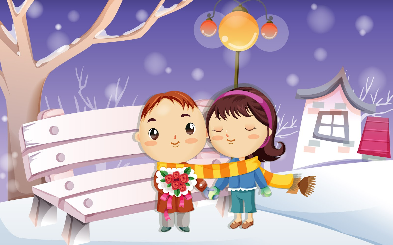 55 wallpaper kartun cinta romantis terbaru bangiz