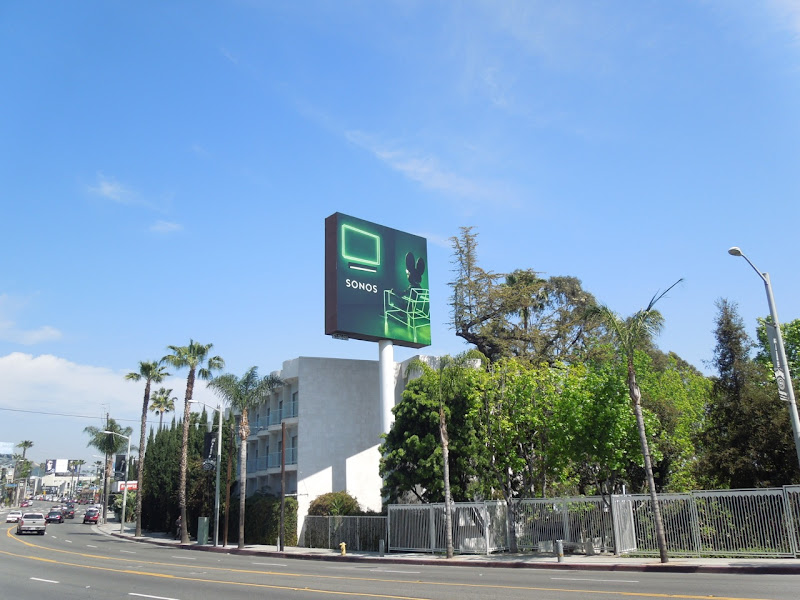 Deadmau5 Sonos Playbar billboard Sunset Boulevard