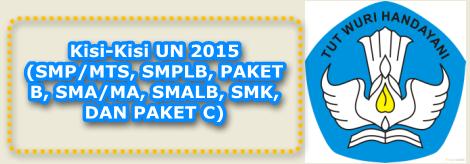 Download kisi-kisi un SMP/MTs, SMA/SMK, SLB sederajat