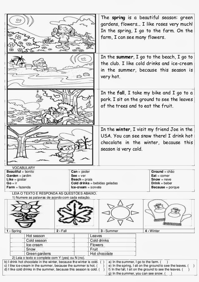 Super Educar X: Atividades de inglês 6° ano do ensino fundamental UR61