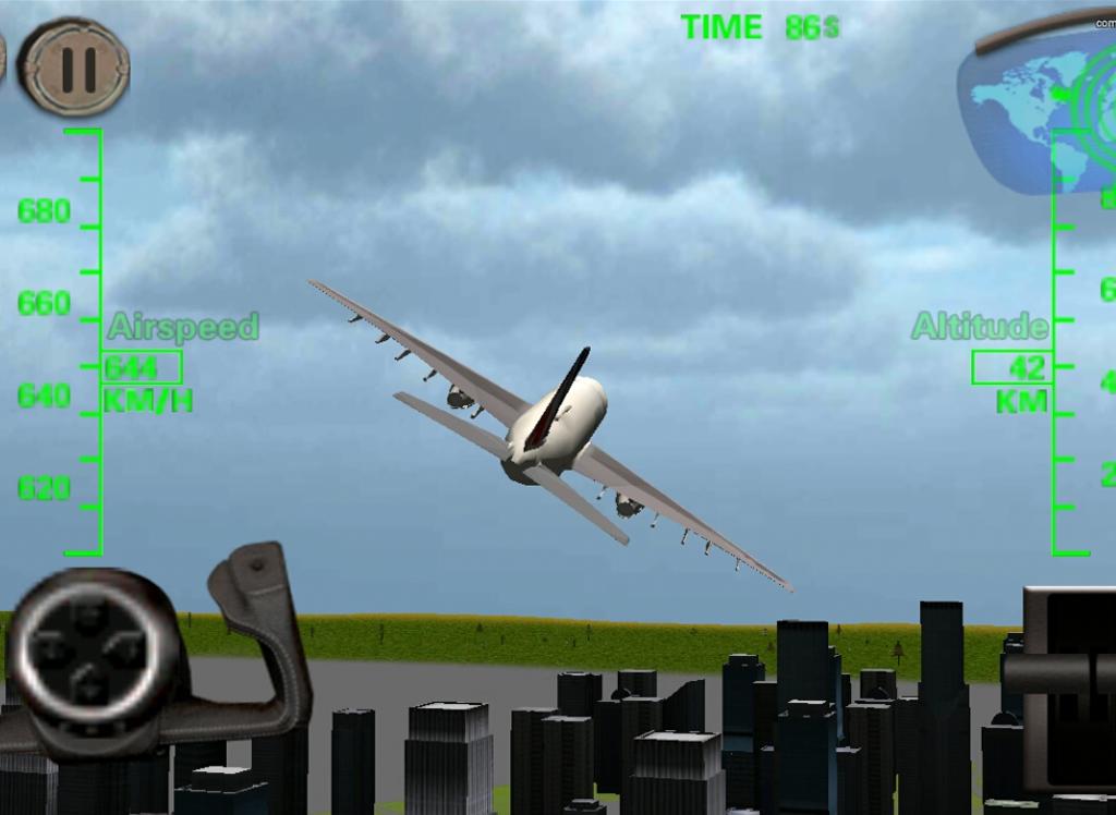 Android Helikopter 3D Uçuş Simülatörü Apk resimi 1