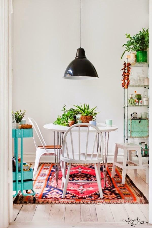 Sala de jantar alternativa