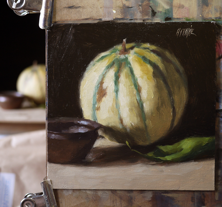 Certains artistes prennent le melon yann hovadik 39 s fine art - Quand recolter les melons ...