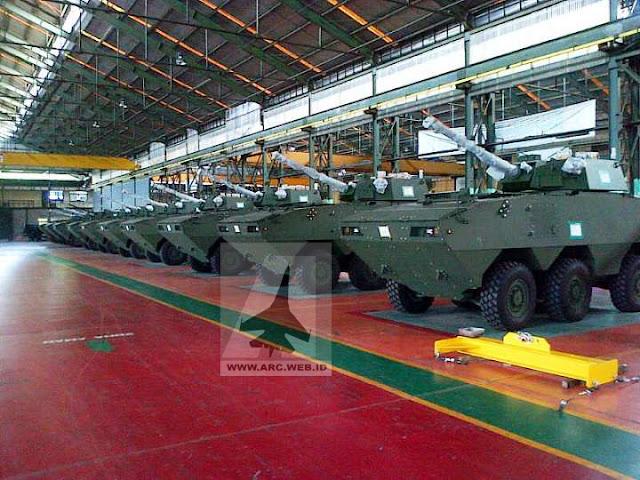 Korps Kavaleri TNI AD Mulai Operasikan Panser Tarantula