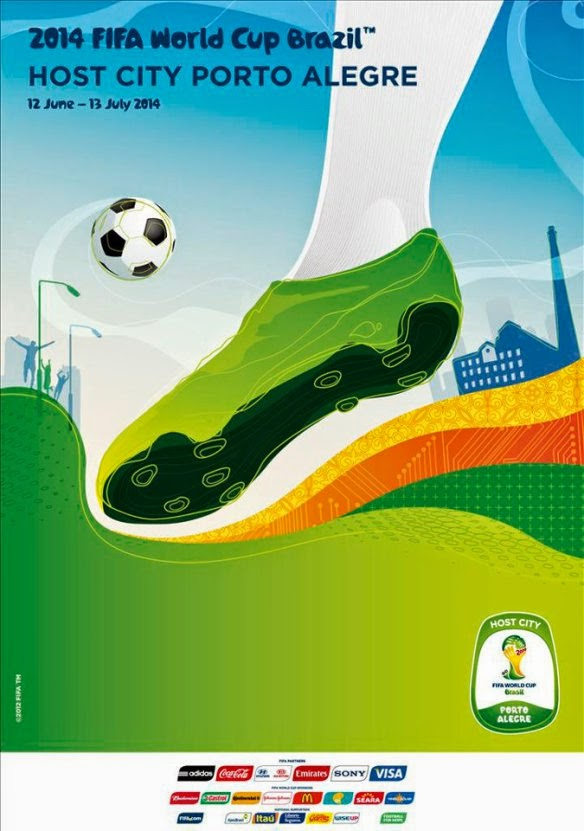 football world cup posters design