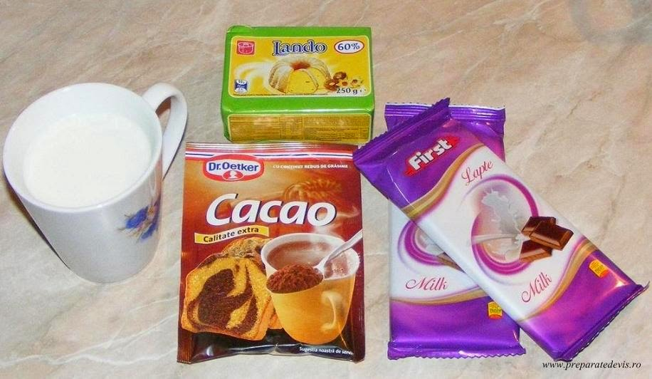 retete si preparate culinare ingrediente pentru glazura de ciocolata pentru eclere