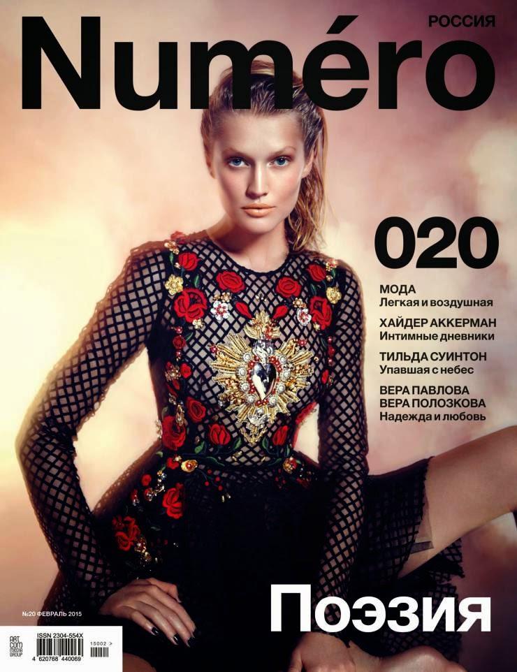 Fashion Model: Toni Garrn by Warren du Preez & Nick Thornton Jones for Numéro Russia