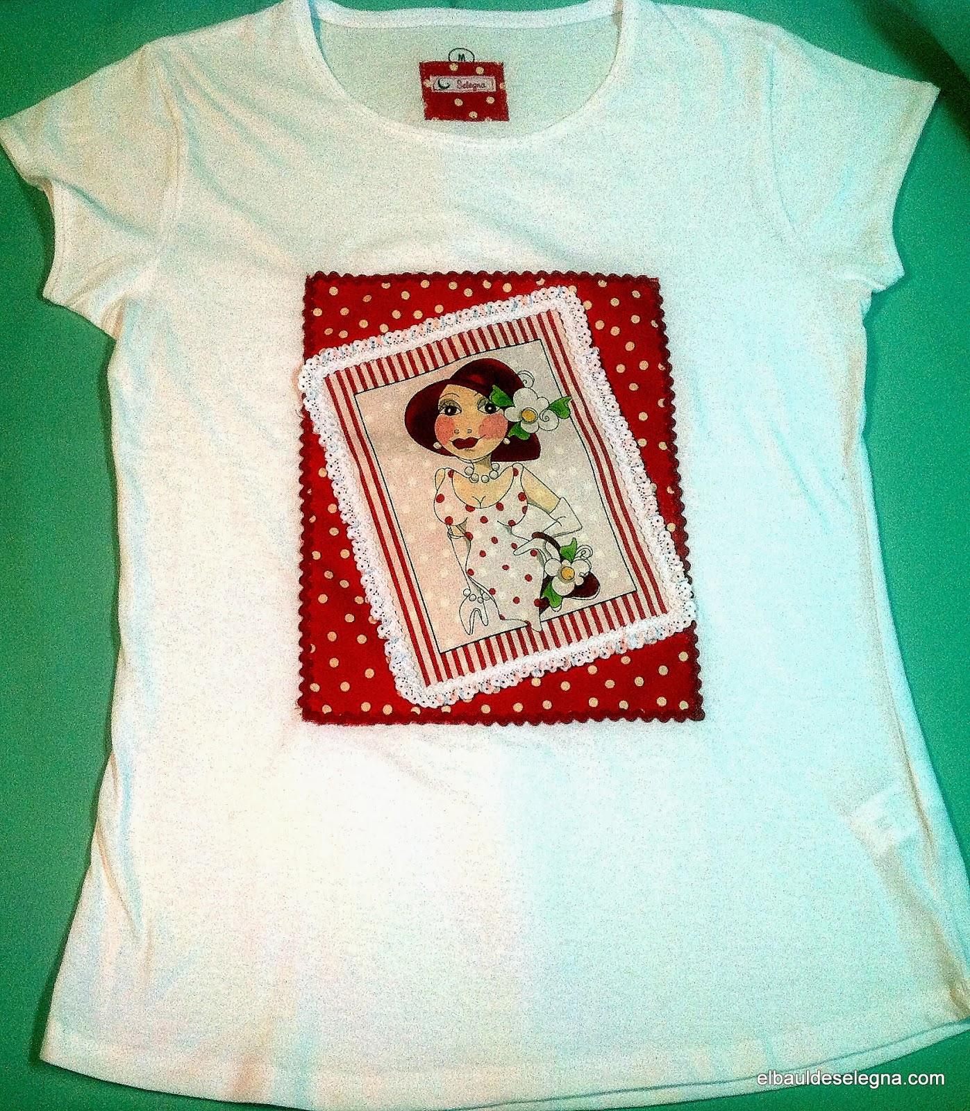 Camiseta chica loca 10