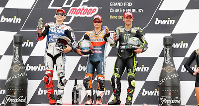 MOTO GP-En la última curva Pedrosa consiguió el GP de Brno