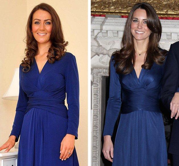 Inilah Wanita Kembaran 'Kate Middleton'