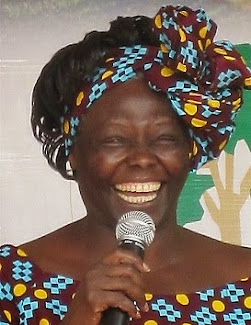 """""""Mi espíritu, la esencia de mi trabajo, está también contenida en el símbolo de un árbol"""" (Wangari"""