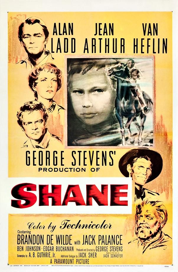Póster Raíces profundas (1953), de George Stevens