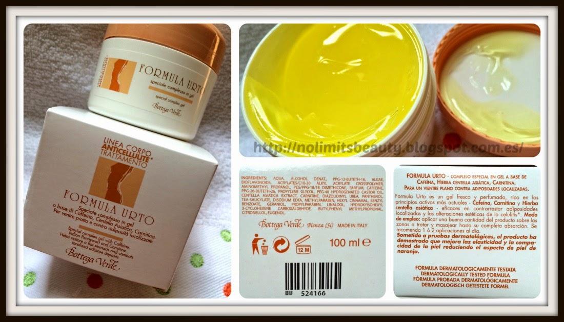 Bottega Verde - Formula Urto Anticellulite