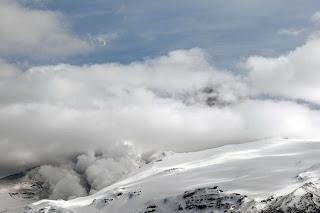 anillo humo volcan Eyhafjallajokull
