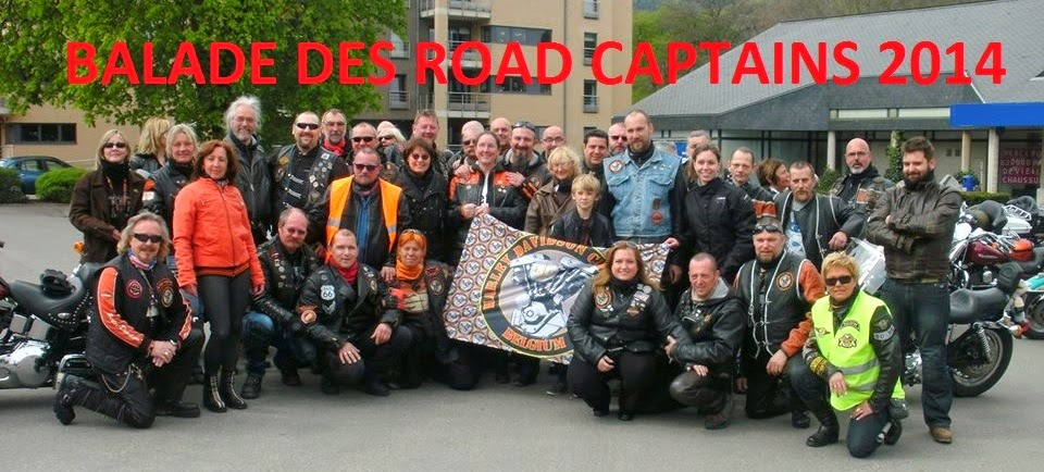 balade des road captains 2014