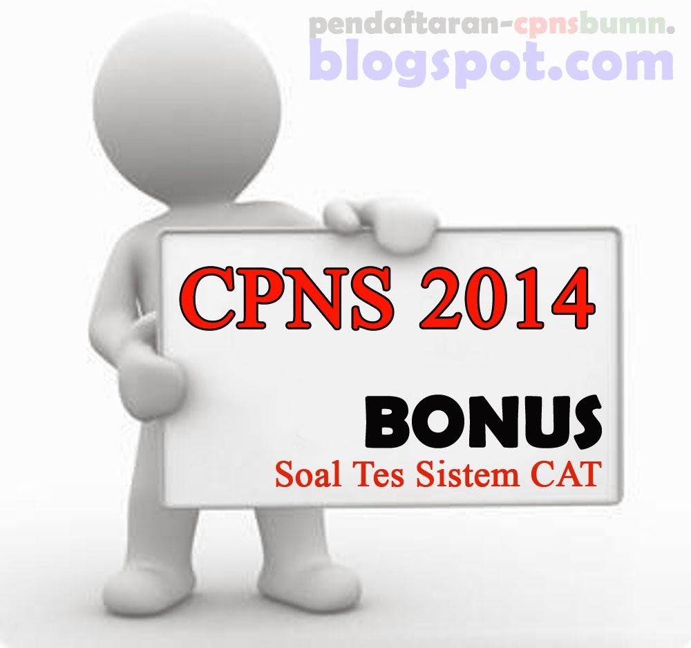 [Prediksi] Contoh soal Tes CPNS Sistem CAT 2014