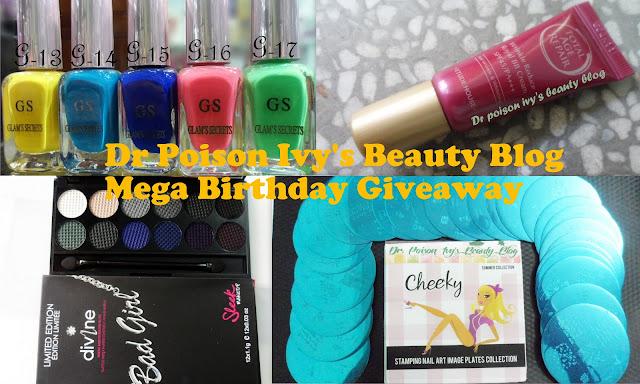 Sorteo en Dr. Poson Ivy's Beauty Blog productos manicuría