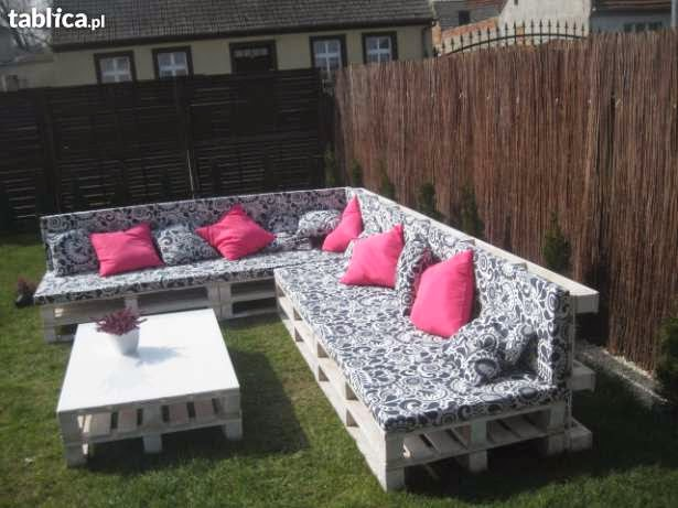 Meble z palet  do domu, do ogrodu  wykorzystałbyś?