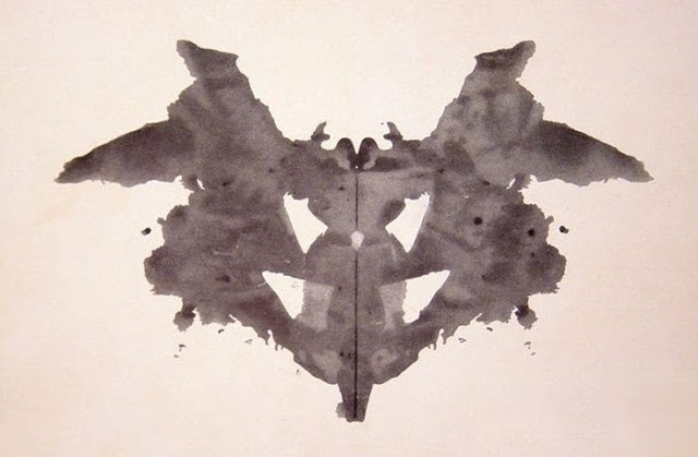 Test de Rorschach planche 1