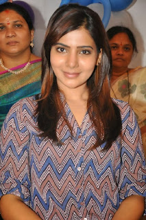 Actress Samantha Latest Pictures at Bellamkonda Suresh Birthday Celebrations 2013  0010