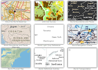 ESRI ArcGIS Online Reference and Speciality Maps