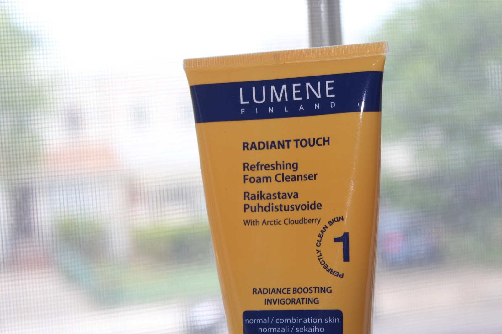 lumene refreshing foam cleanser