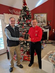 Sandy Chappell KB4KN - 2018 Al Parker Award Winner