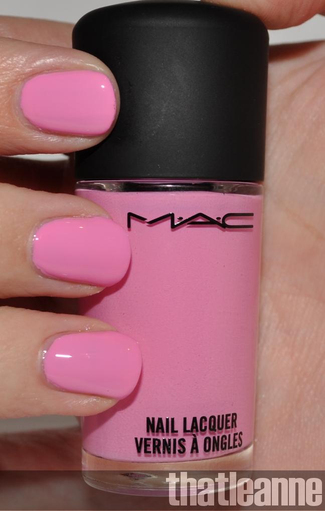 MAC Quite Cute Nail Polish Swatches and garden nail art ;-) | Easy ...