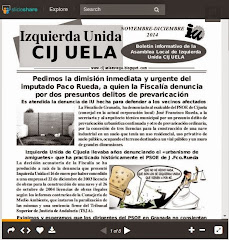 boletin de la asamblea de IU Cijuela incorporada en su totalidad a Podemos Cijuela