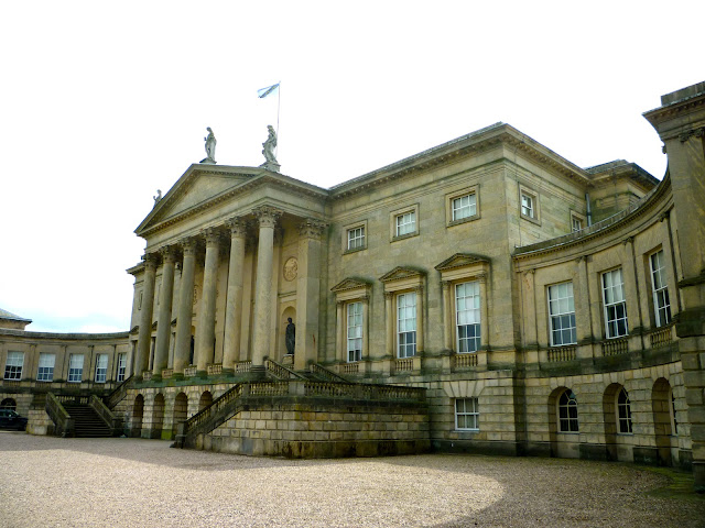 kedleston hall georgian house via lovebirds vintage