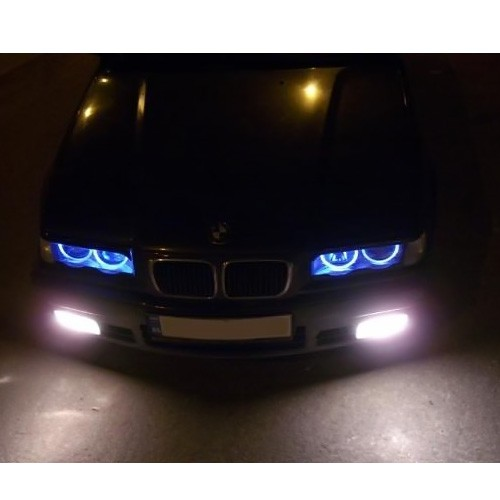 bmw top auto now time for blue and red angel eye for e46. Black Bedroom Furniture Sets. Home Design Ideas