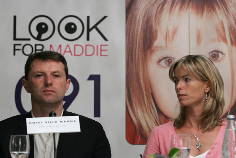 The McCanns and the Magician Trick of Misdirection Look+for+Maddie