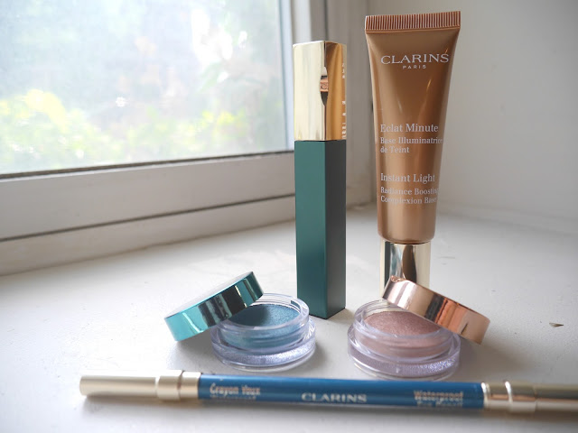 clarins aquatic treasure review swatch